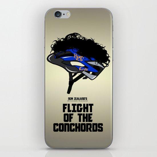 Flight of the Conchords - Hair Helmet iPhone & iPod Skin