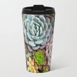 Colorful Succulent Garden Travel Mug