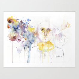 your fading tips Art Print