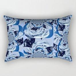 Mountain Fractal Rectangular Pillow