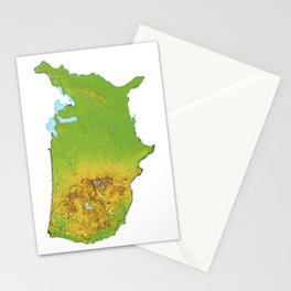 Physically United States Stationery Cards