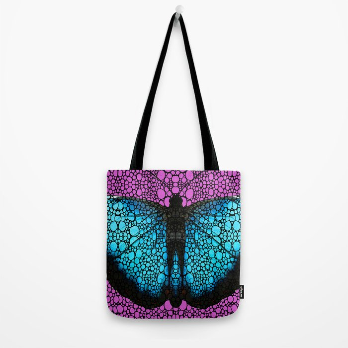 Stone Rock'd Butterfly 2 By Sharon Cummings Tote Bag