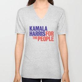 Kamala Harris for the People 2020 elections Unisex V-Neck