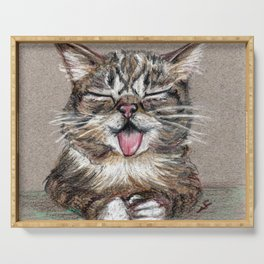Cat *Lil Bub* Serving Tray