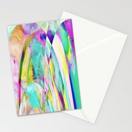 276 - Abstract Colour Design Stationery Cards