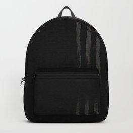 Black American flag Backpack