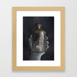 Grillenspiel Framed Art Print
