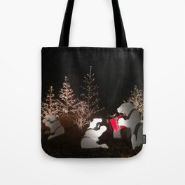 Polar Bear Christmas Tote Bag