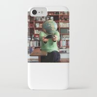globe iPhone & iPod Cases featuring Globe by Kelly Nicolaisen