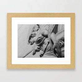 Common beauty Framed Art Print