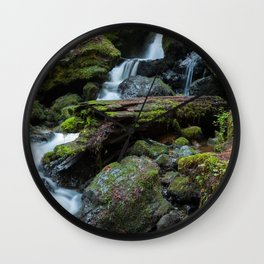 Separate But One Wall Clock