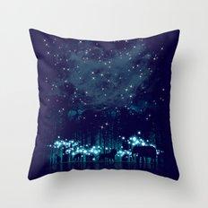Cosmic Safari Throw Pillow