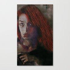 Drive Through Ghosts Canvas Print