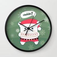 cookies Wall Clocks featuring cookies? by techjulie