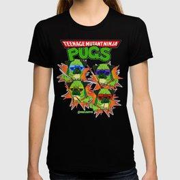 Teenage Mutant Ninja Pugs T-Shirt