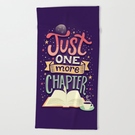 One more chapter Beach Towel
