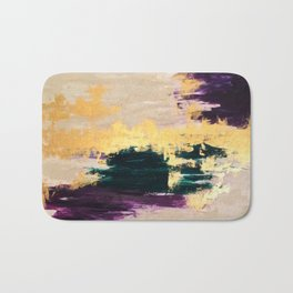 Sassenach Purple and Gold Bath Mat