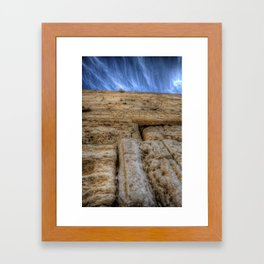The Wailing Wall Series #3 Framed Art Print