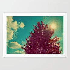Change is Beautiful Art Print
