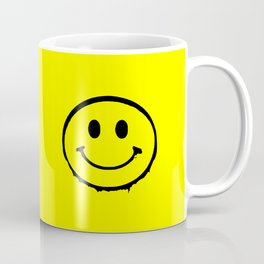 smiley face rave music logo Coffee Mug