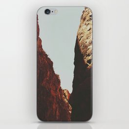 Big Bend Ranch State Park Small Canyon iPhone Skin