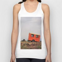 spanish Tank Tops featuring Spanish Caravan  by Yehuda Swed