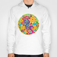 60s Hoodies featuring BQ - Yas4Yas 60s Throwback by lessdanthree