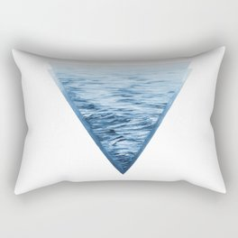 Triangle Becalm  Rectangular Pillow