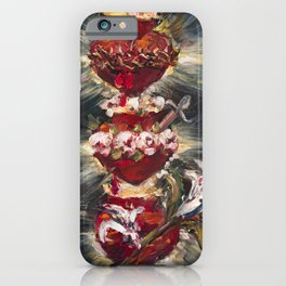 Most Sacred Hearts iPhone Case