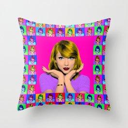 Taylor S. Throw Pillow