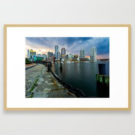 Boston, Massachusetts 1 Framed Art Print
