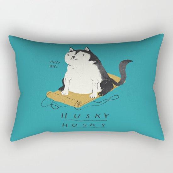 husky husky Rectangular Pillow