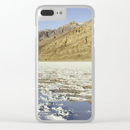Badwater Basin Clear iPhone Case