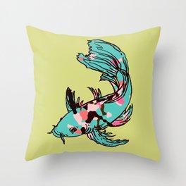 AriZona Butterfly Koi Throw Pillow