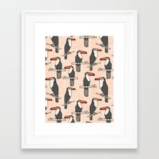 Durante of Toucans Framed Art Print