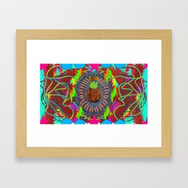 Pina Coilada Framed Art Print