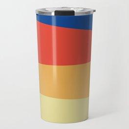 Abstracted Lines Travel Mug