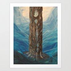 Maelstrom Tower Art Print