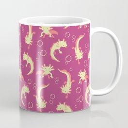 Relaxolotl - Rose Pink Coffee Mug