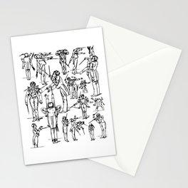 Gustav Mahler Conducts Symphony Stationery Cards