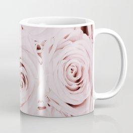 Flowers, Roses, Neutral, Minimal, Modern, Wall art Coffee Mug