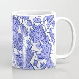 Retro Gamer - Blue Coffee Mug