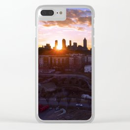 Old Fourth Ward Clear iPhone Case