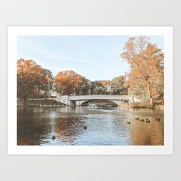 Autumn Scenes III Art Print