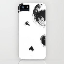 Hypnotized dalmatian iPhone Case
