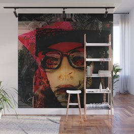 Pirate Self Portrait Wall Mural