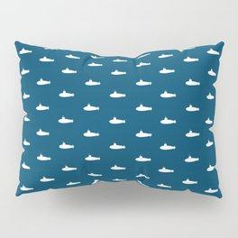 Tiny Subs - Navy Pillow Sham
