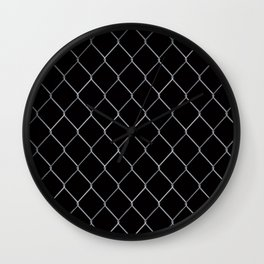 Black Chainlink Wall Clock