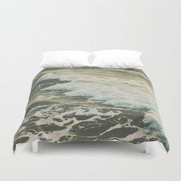 Marble Ocean Crush Duvet Cover
