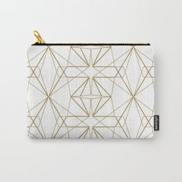 Gold Diamond Carry-All Pouch